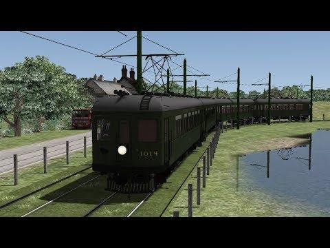 Train Simulator 2019: Tram Testing (2) The Visitor From Sacramento |