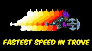 Fastest speed you can reach in Trove