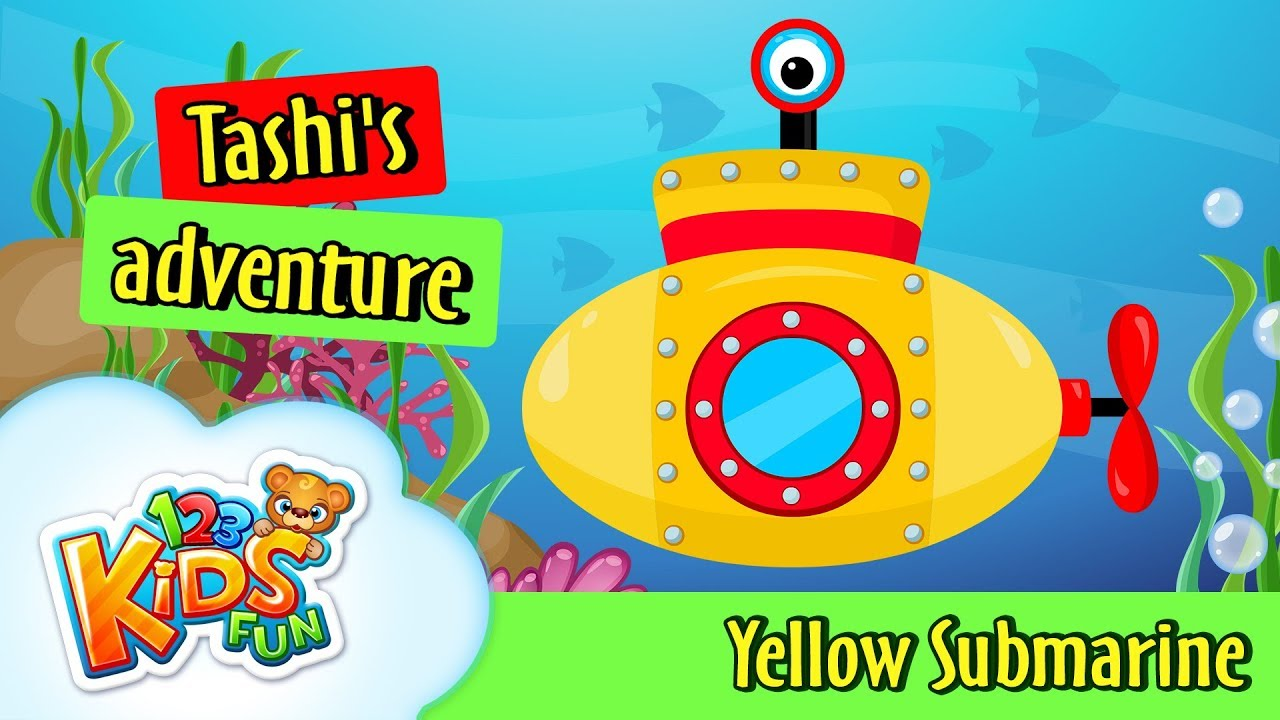 a cartoon adventure yellow submarine When their spectacular feature, yellow submarine, debuted in 1968, it was instantly recognisable as a landmark film by merging the visual splendour of animation with a fantasy - adventure tale filled with peace, love, hope and of course, music.