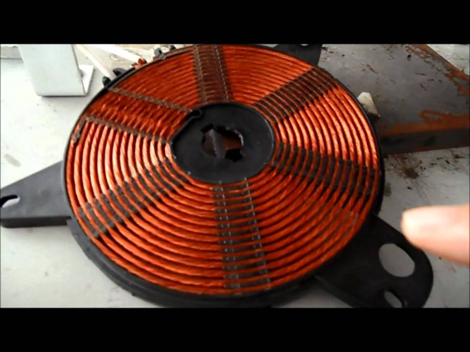 Coil Induction Cooker ~ Induction cooker coil disk production process produce