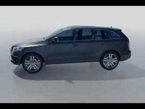 Audi Q7 exterior rendering 3dsmax model