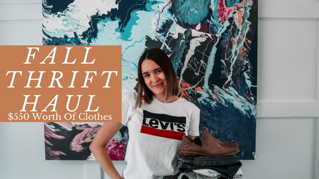 [VIDEO] - 2019 FALL THRIFT HAUL| $550 WORTH OF CLOTHES|TRY ON!!! 4