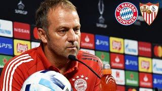 """""""Zwei Champions gegeneinander"""" - PK mit Neuer & Flick  FC Bayern - FC Sevilla   UEFA Super Cup"""