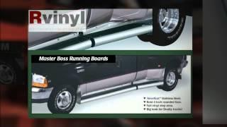 Putco Master Boss Bed Board Running Boards - Custom Step Tubes