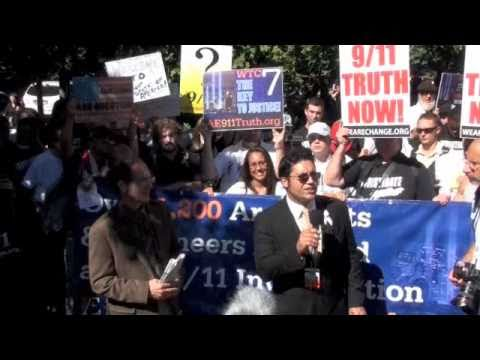 AE911truth & Manny Badillo :Press conference at WTC 7 9/11/10