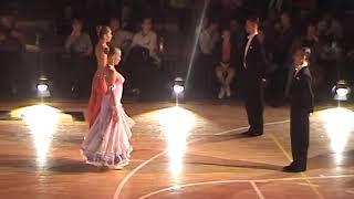 Marcin Rychwiński - finał klasa A - tańce standardowe - 2009 rok