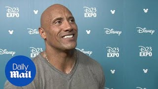 The Rock applauds Disney's diversity in upcoming film - Daily Mail