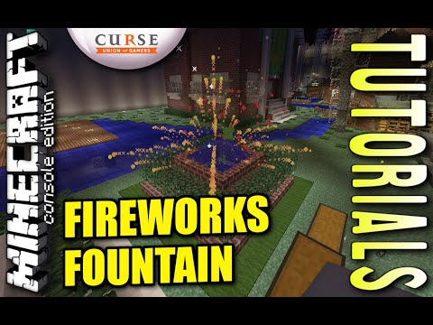 how to build fireworks in minecraft xbox