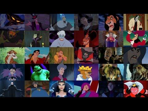 Defeats of my Favorite Disney Villains