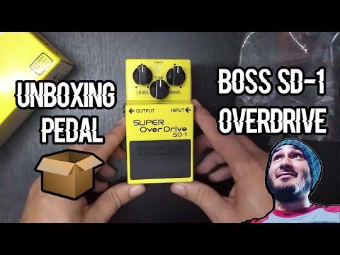 #bosspedals #sd1 RE-UNBOXING PEDAL BOSS SD-1 SUPER OVER DRIVE MOD EN ESPAÑOL!! #pedal1