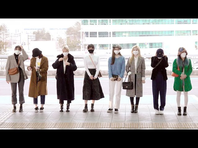 200221 트와이스(TWICE) 출국|인천공항 · 비몽
