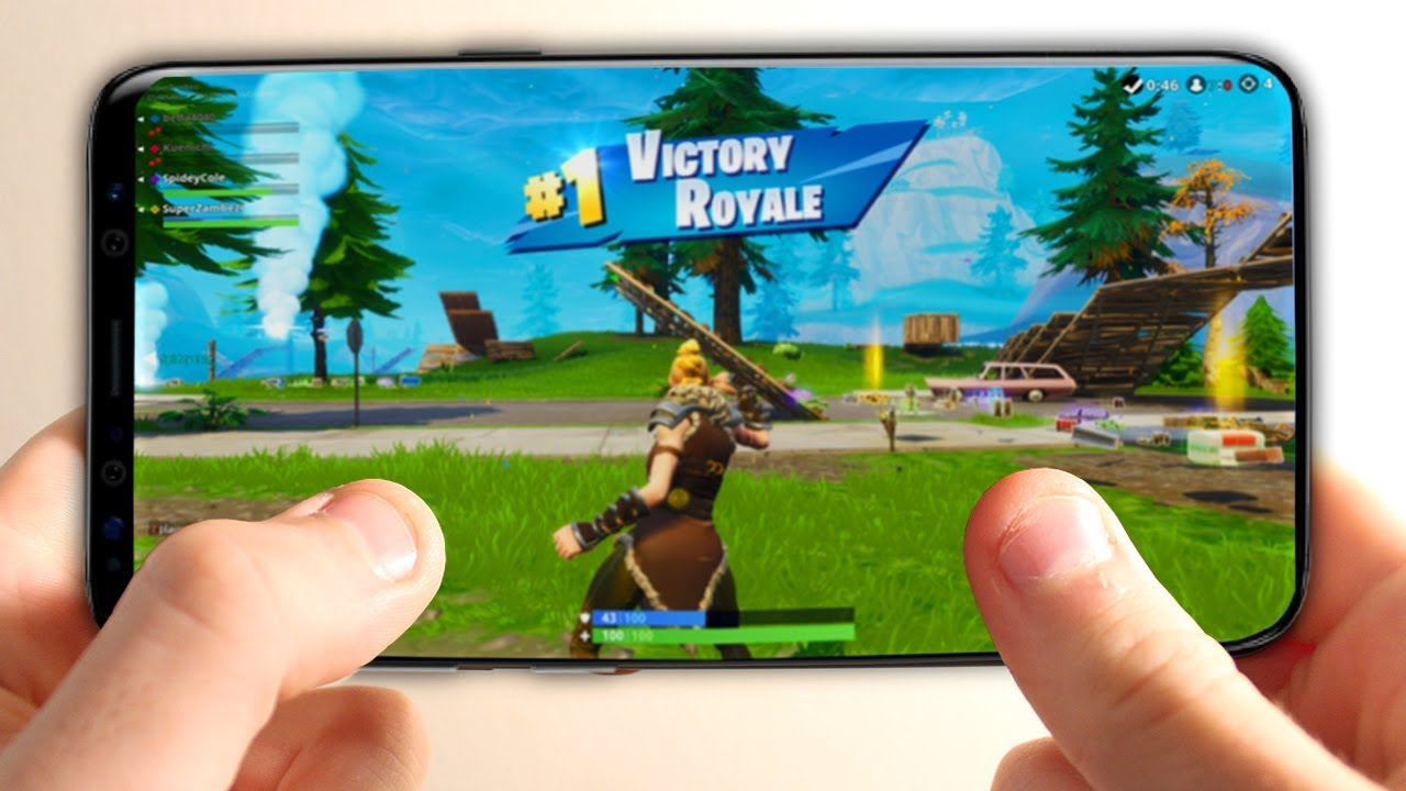 NEW Fortnite Android Gameplay & How To Download Fortnite ...