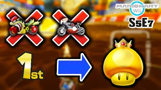 We Played RANDOM Items Without S-Tier Vehicles - Mario Kart Wii