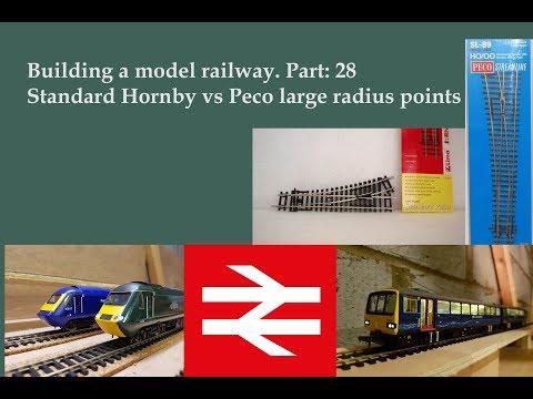 Part 28: Points comparison – Building a model railway