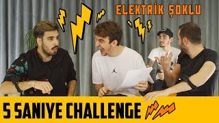 5 SECONDS CHALLENGE | ELECTRIC SHOCK
