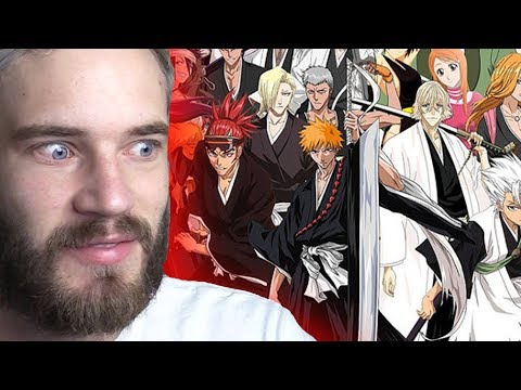 Pewdiepie Calls The Creator of BLEACH a GENIUS...