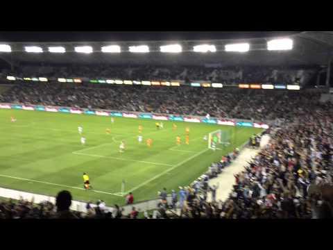 Los Angeles Galaxy vs Houston Dynamo 1-0 Alan Gordon
