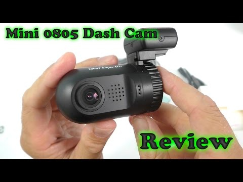 Mini 0805 Dash Cam REVIEW + Day & Night Sample Recordings