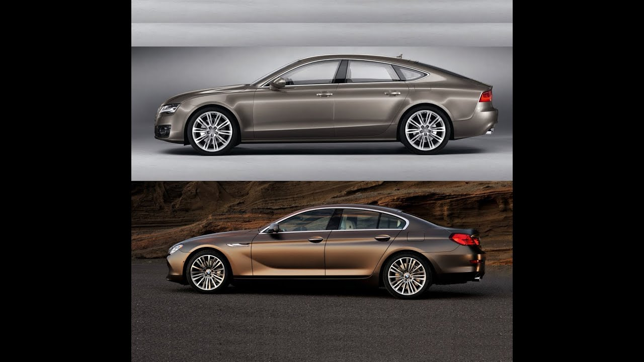 Audi A7 3 0 Tdi Versus Bmw Serie 6 Grand Coupe 640d Youtube