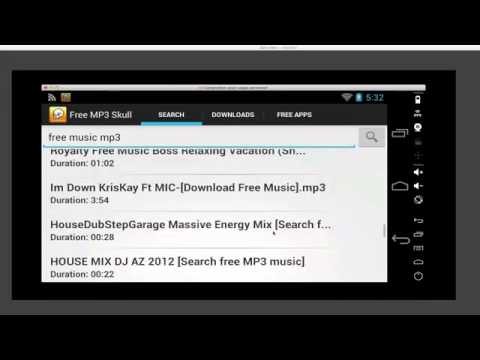 Free Music Downloader App for Android