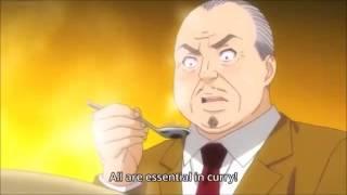 Shokugeki no soma -Mutton meat Shimotsu-to curry