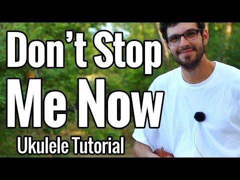 Queen - Don't Stop Me Now - Ukulele Tutorial