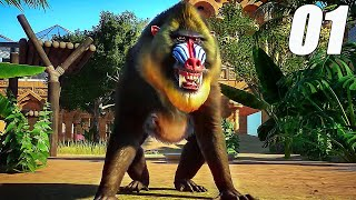 Gambar cover THEY SHOT MY MONKEY | Planet Zoo #1