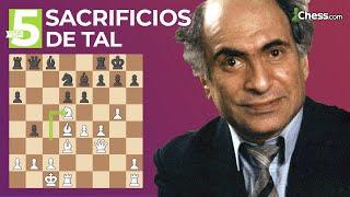 El campeón del mundo de ajedrez MÁS QUERIDO   Top 5 Sacrificios