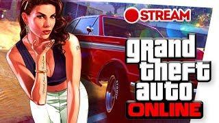 СТРИМ GTA 5 Online.Гуляем по городу,гоняем гонки,отжигаем в стриптиз клубе