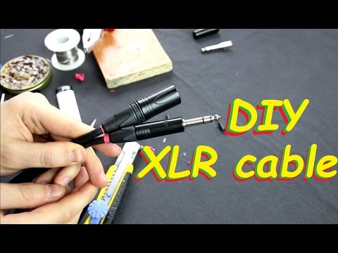 How to make XLR to 1/4