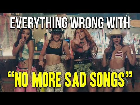 "Everything Wrong With Little Mix - ""No More Sad Songs"""