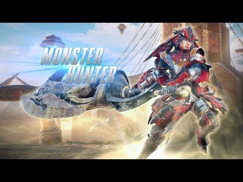 ゲームプレイトレーラー DLC「モンスターハンター」 - MARVEL VS. CAPCOM: INFINITE