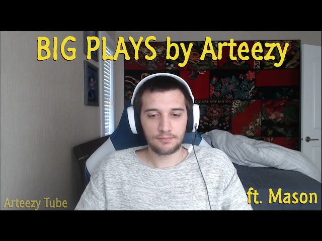 Arteezy: BIG PLAYS (ft. mason) ????