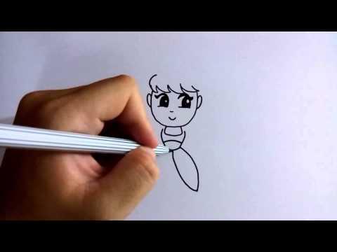 วาดการ์ตูนกันเถอะ สอนวาดการ์ตูน เจ้าหญิงตาโต