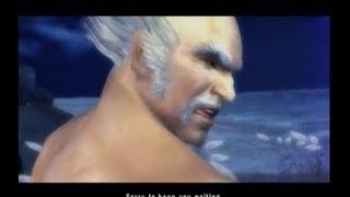 Tekken 5 - Heihachi's secret cutscenes in time attack mode - HQ