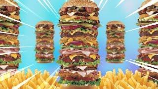LE PLUS GROS BURGER DU MONDE ! Citizen burger