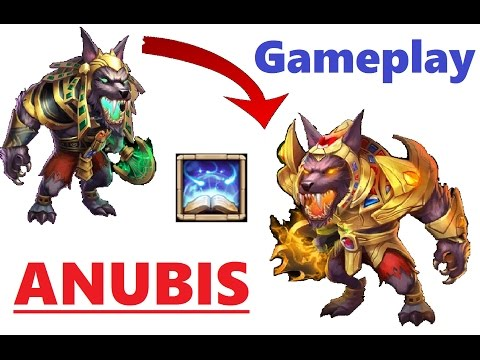 ANUBIS Gameplay Evolving The BEAST! With A SURPRISE Gamechanger Review Castle Clash