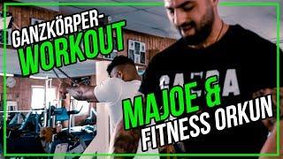 Ganzkörper-Workout mit MAJOE und Fitness ORKUN auf Massephase