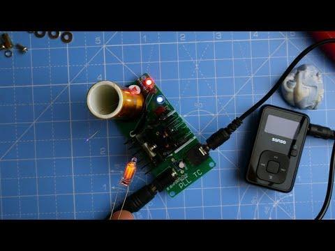 LAZY SUNDAY - Tesla Coil : Mini Plasma Speaker