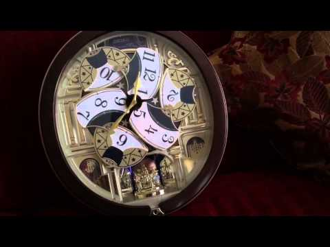 Seiko 2014 clock. (All Beatle songs).