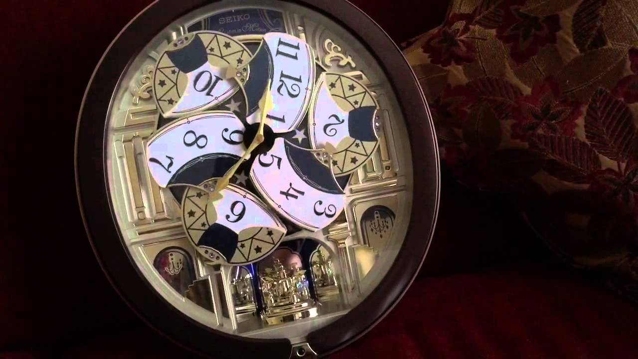 Seiko 2014 clock all beatle songs youtube amipublicfo Images