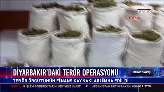 Diyarbakırdaki Terör Operasyonu