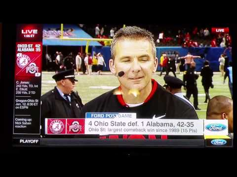 Urban Meyer death stare of mark may