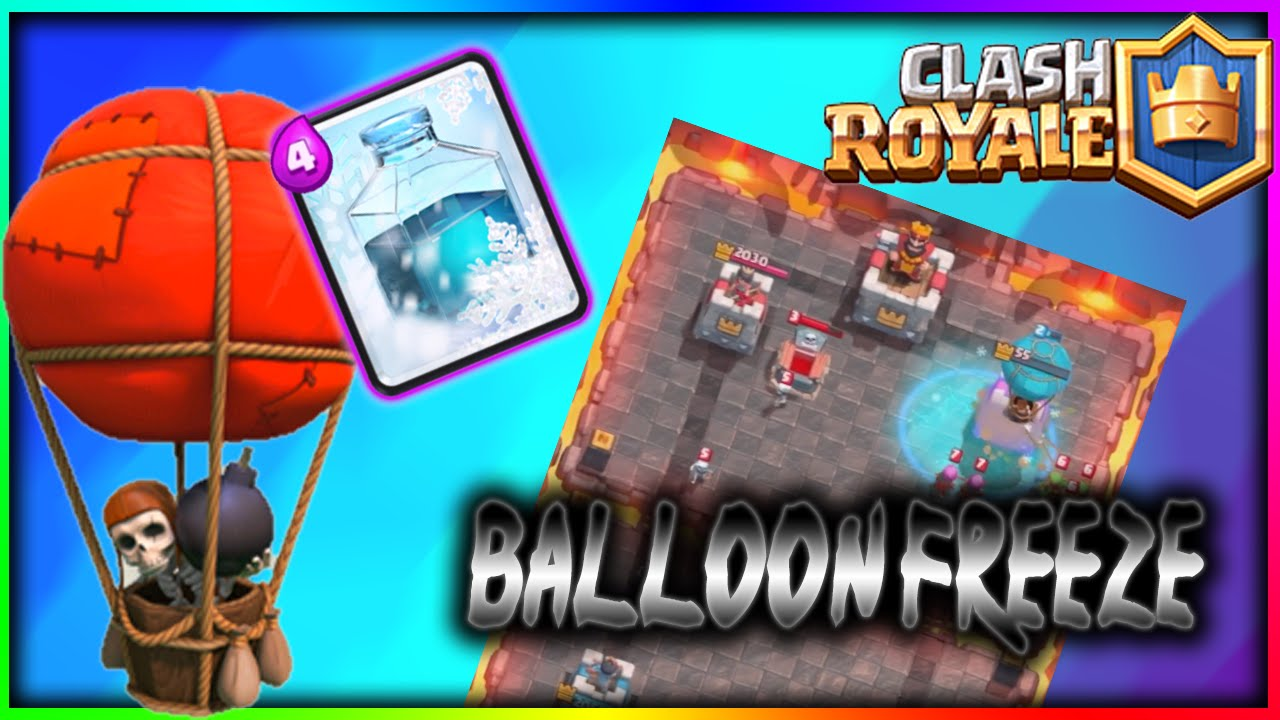 BALLOON FREEZE ATTACK STRATEGY