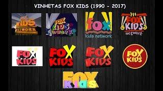 Cronologia #6: Vinhetas FOX Kids (1990 - 2017)