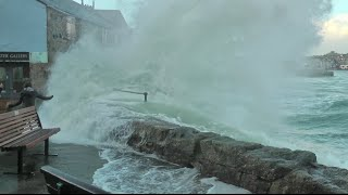 A DRENCHING SLICE OF St IVES COURTESY OF STORM IMOGEN