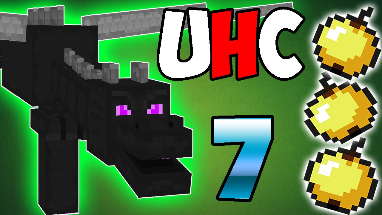 "Ender Dragon Ultra Hardcore – Minecraft 1.8 Solo UHC – #7 – ""ENCHANTMENT TABLE!"""