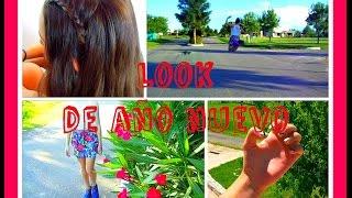 Look de Año Nuevo 2015 (Outfit, Peinado y Uñas) Thumbnail