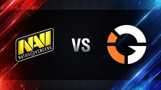 Natus Vincere vs IMPACT Gaming - day 2 week 6 Season I Gold Series WGL RU 2016/17