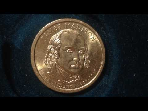 Presidential Dollar Coin: 2007 James Madison
